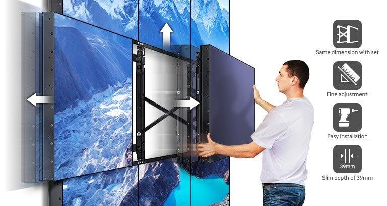 Lắp đặt hệ thống màn hinh ghép video wall cho sự kiện