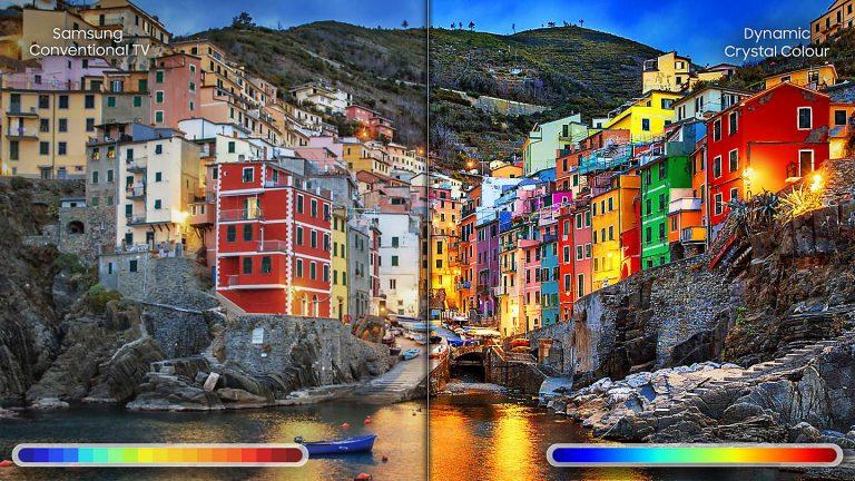 Công nghệ màu sắc đỉnh cao của tivi lcd khi thuê